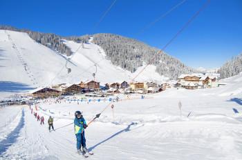 Skigebiet für Anfänger und Wiedereinsteiger!