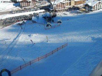 Übungsareale für kleine Wintersportler