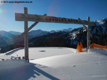 Top geshapter Snowpark