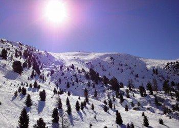 Sportliche Talabfahrt vom Sunnegga Gebiet zurück nach Zermatt