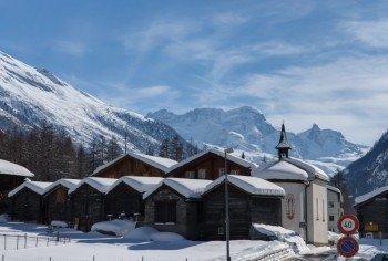 Spartipp: Eine Unterkunft in Randa ist zum Teil deutlich günstiger als in Zermatt