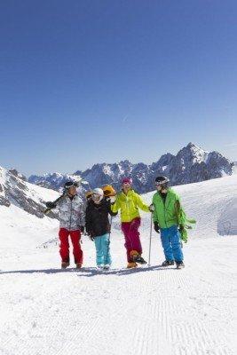 Wintersportvielfalt auf der Zugspitze