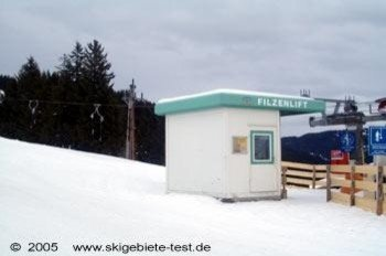Perfect for practicing! The Filzenlift t-bar at the mountain Reiterkogel (1819 m/5967 ft)