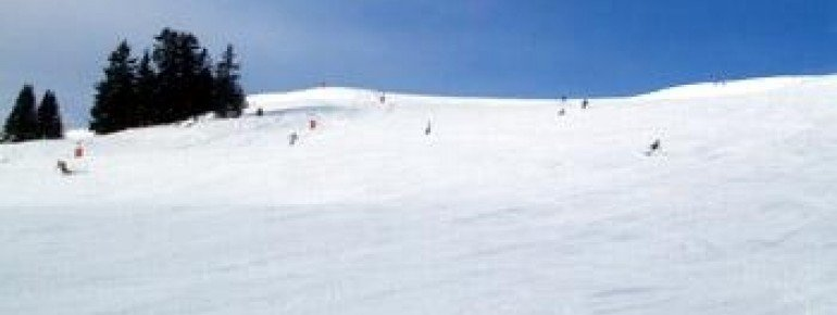 The broad slopes are definitely a plus - especially for snowboarders!