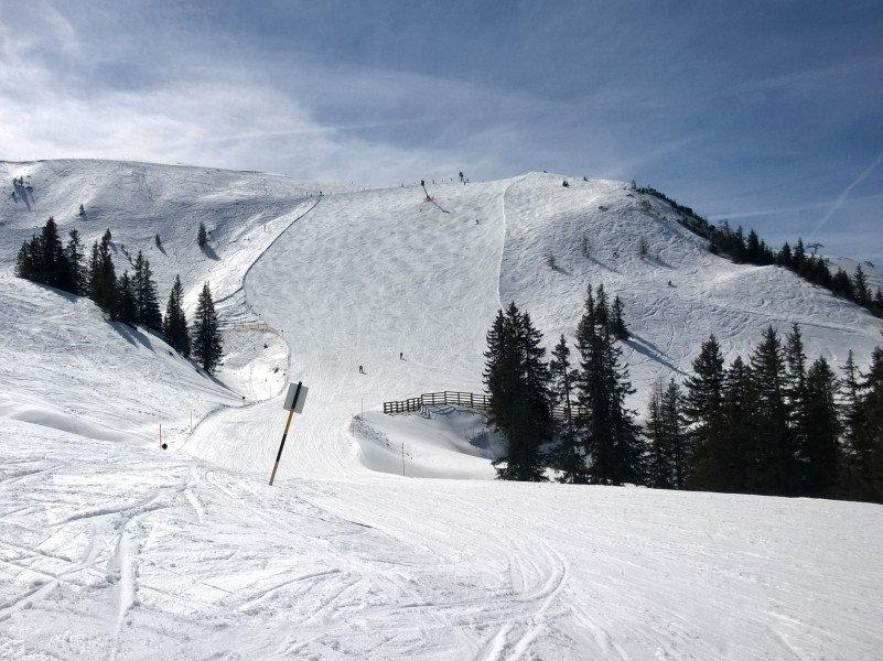Testbericht anfänger kitzbühel einsteiger skifahren lernen