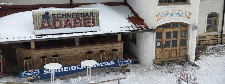 Richtiges Après Ski Flair kommt nur bei der Open Air Bar der Firmianstub'n auf