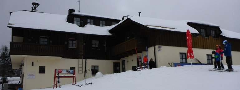 Der Gasthof Alpe ist das größte Restaurant im Skigebiet