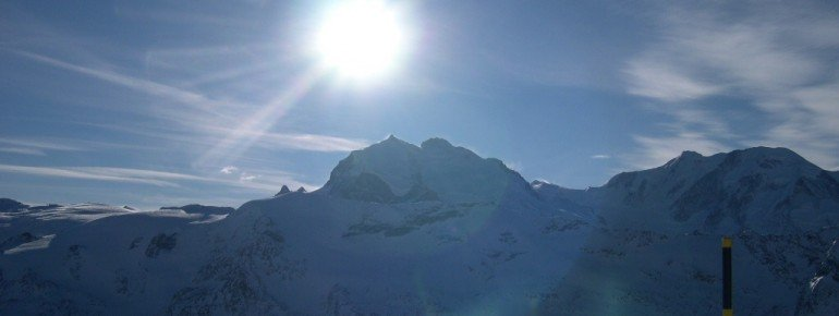 Die Dufourspitze (4634 m) – der höchste Gipfel der Schweiz!