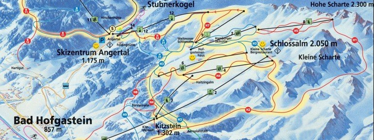 Trail Map Bad Hofgastein