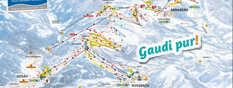 Trail Map Dachstein West