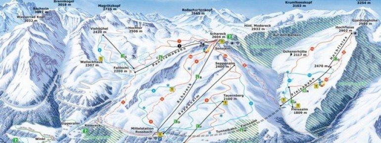 Trail Map Heiligenblut Grossglockner