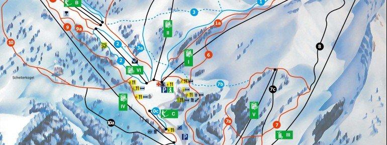 Trail Map Hochkar