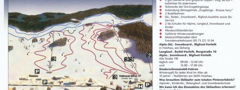 Trail Map Holzhau