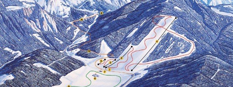 Trail Map Kaiserau