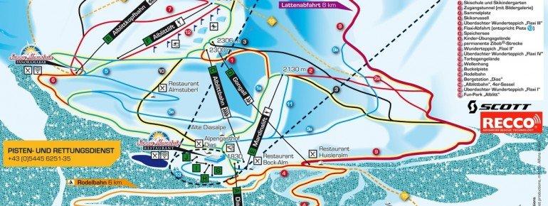 Trail Map Kappl
