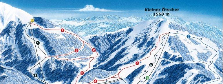 Trail Map Lackenhof Ötscher