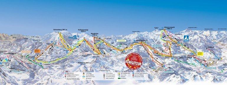 Trail Map Maria Alm