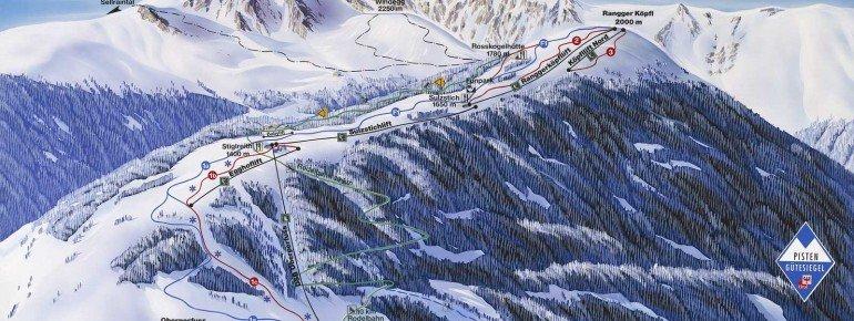 Trail Map Oberperfuss Rangger Köpfl