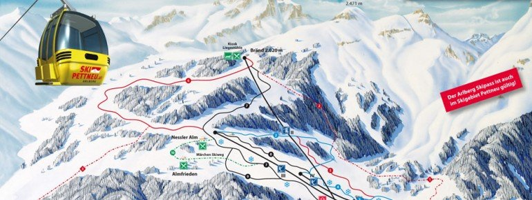 Trail Map Pettneu