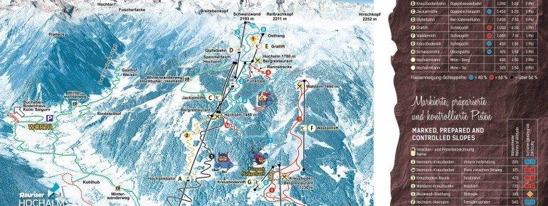 Trail Map Rauriser Hochalmbahnen