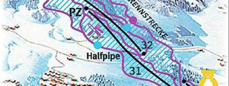 Trail Map Saalfelden
