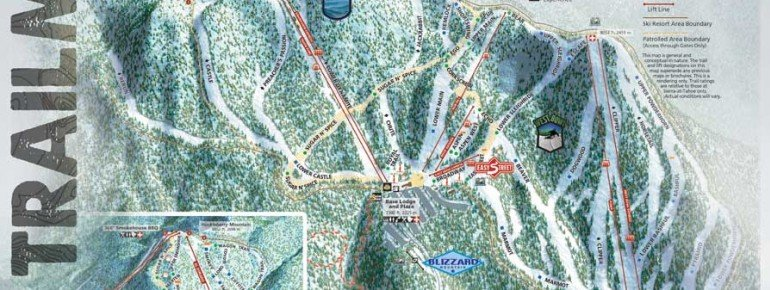 Trail Map Sierra at Tahoe