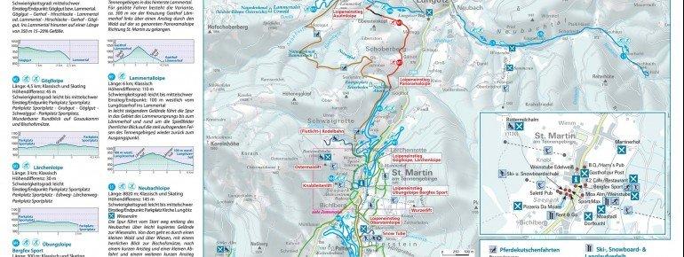 Trail Map St Martin im Lammertal