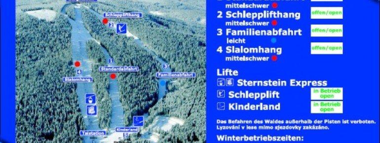 Trail Map Sternstein Lifte