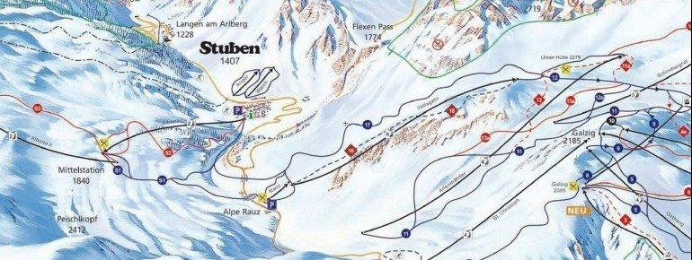 Trail Map Stuben