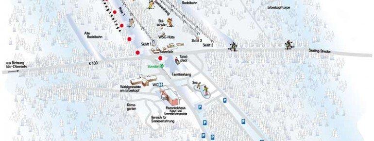 Trail Map Thalfang Erbeskopf