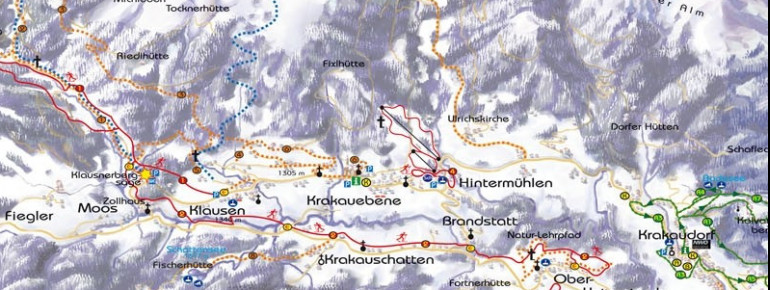 Trail Map Tockneralmlift