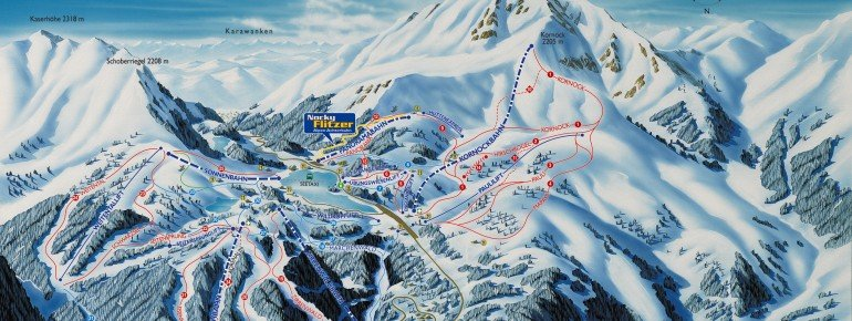Trail Map Turracher Höhe