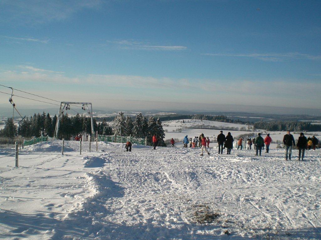 Schnee Vogelsberg