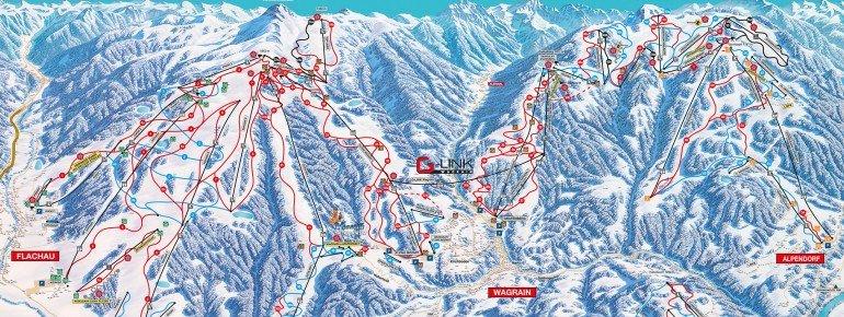Trail Map Wagrain
