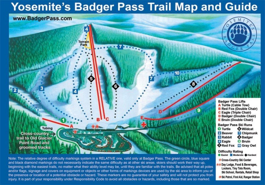 Image gallery yosemites badger pass photos pictures