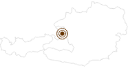 Webcam Wieserhörndl in Salzburg & Umgebungsorte: Position auf der Karte