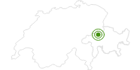 Langlaufgebiet Flims Laax Falera in Flims Laax Falera: Position auf der Karte