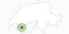 Langlaufgebiet Ovronnaz in Ovronnaz: Position auf der Karte