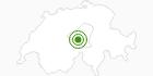 Langlaufgebiet Melchsee Frutt in Obwalden: Position auf der Karte