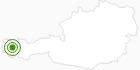 Langlaufgebiet Warth-Schröcken am Arlberg: Position auf der Karte