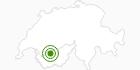 Langlaufgebiet Anzere in Sion: Position auf der Karte