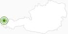 Langlaufgebiet Andelsbuch Bezau im Bregenzerwald: Position auf der Karte
