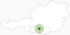 Langlaufgebiet Falkert in der Region Nockberge Bad Kleinkirchheim: Position auf der Karte