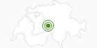 Langlaufgebiet Haslital (Gadmen, Hasliberg, Meiringen) im Haslital: Position auf der Karte