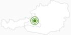 Langlaufgebiet Werfenweng in Salzburg & Umgebungsorte: Position auf der Karte