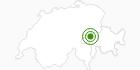 Langlaufgebiet Brigels Waltensburg Andiast in Surselva: Position auf der Karte