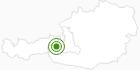 Langlaufgebiet Uttendorf in Nationalpark Hohe Tauern: Position auf der Karte