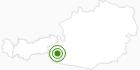 Langlaufgebiet Kals - Matrei - Virgen - Prägraten (Nationalpark Hohe Tauern) in Osttirol: Position auf der Karte