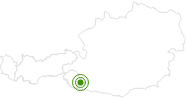 Cross-Country Skiing Area Lienz in East Tyrol: Position on map