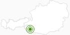 Langlaufgebiet Lienzer Dolomiten in Osttirol: Position auf der Karte